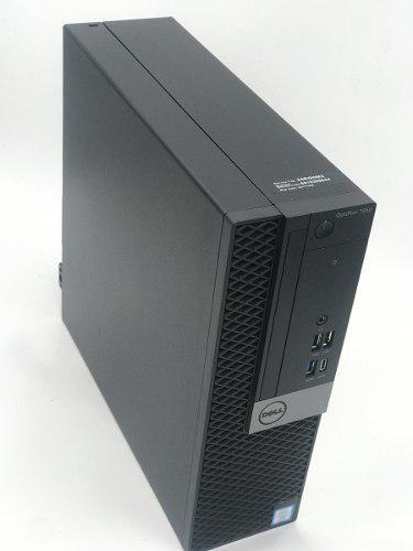 Intel core i7 7700 + 8gb ram ddr4 + 500 dd dell 7050