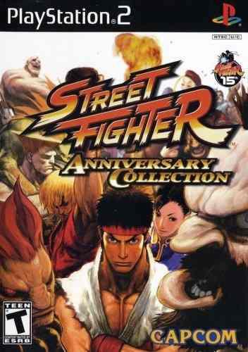 Juegos,colección de aniversario de street fighter