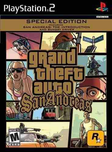 Juegos,grand theft auto edición especial de san andreas..