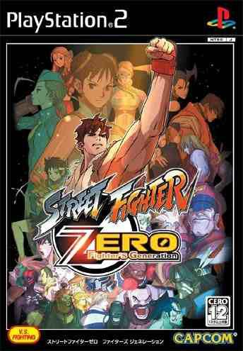 Juegos,street fighter zero - fighters generation importa..