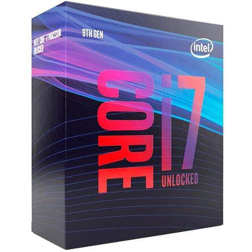 Procesador i7 9700k intel core i9 9na gen 12mb socket 1151