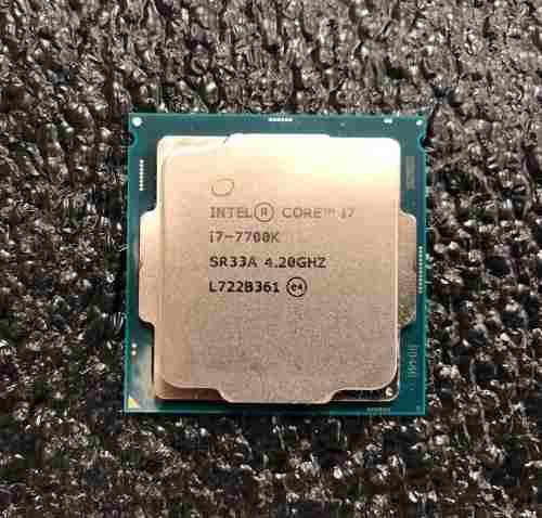 Procesador intel core i7 7700k socket 1151 kaby lake 7ma gen