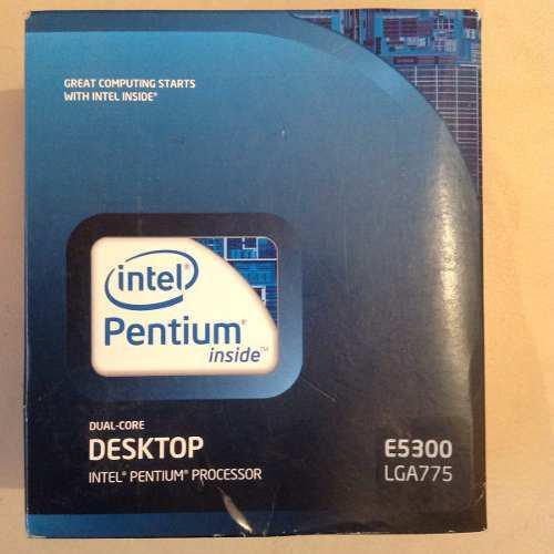 Procesador intel pentium dual core e5300