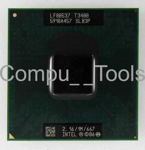 Procesador intel pentium dual core t3400 2,16 ghz slb3p