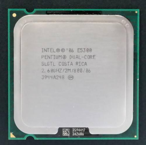 Procesador pentium dual core e5300 2.60ghz 2mb 800mhz lga775