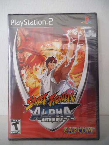 Street fighter alpha anthology playstation ps2 juego fisico