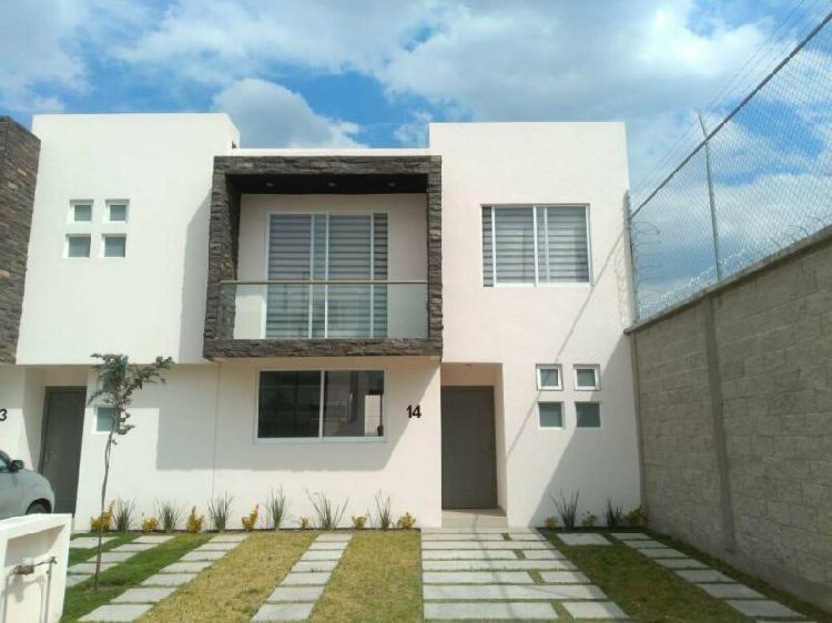 Casa en condominio - San Mateo Atenco /