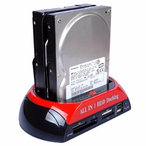 Dock disco duro 2.5 3.5 sata ide multilector memorias backup