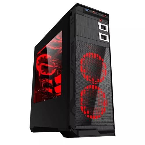 Gabinete Gamer Eagle Warrior Blade Mk Rojo Usb3.0