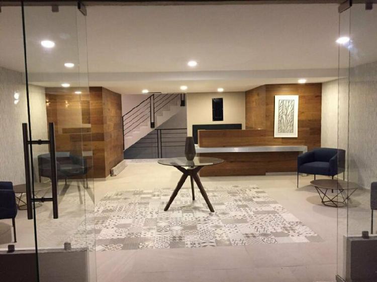 Nuevo col san rafael 60 m2 1 rec 1 baño 1 estac edificio