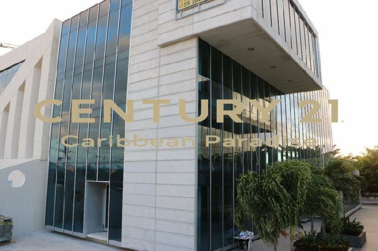 Oficinas corporativas en venta cancún blau center c2416 /