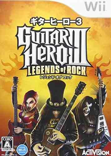 Juegos,guitar hero iii legends of rock importación japon..