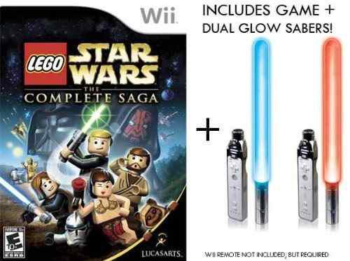 Juegos,nintendo wii lego star wars completos sage juego..