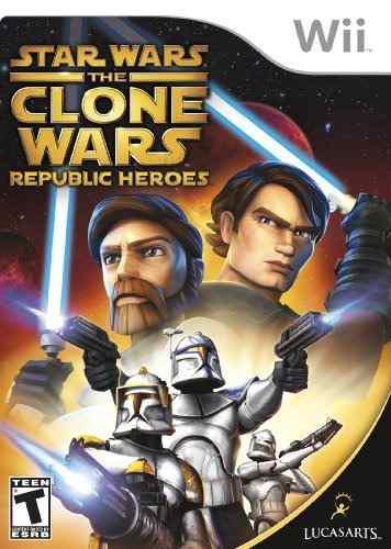 Juegos,star wars las guerras clon republic heroes - nint..