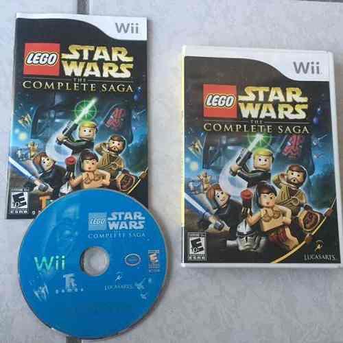 Lego star wars complete sagas juegazo para tu wii chécalo