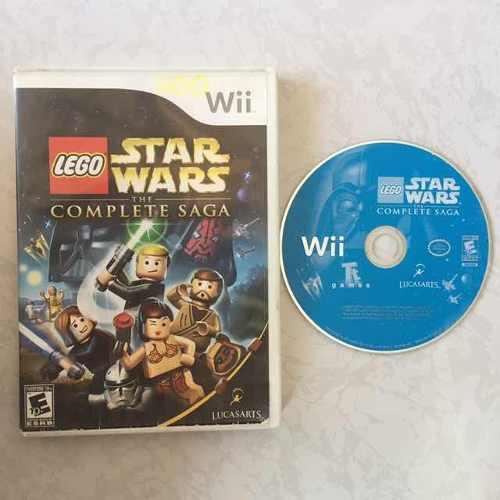 Lego star wars the complete saga juegazo para tu wii checalo