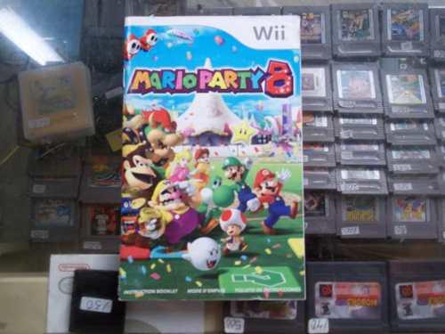 Mario party 8 wii solo manual o instrutivo