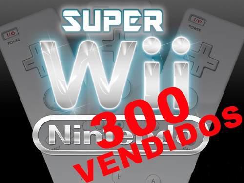 Nintendo wii juegos 128gb 1 año gtía 2000 retro p8