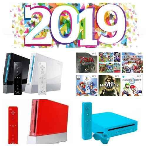 Nintendo wii+5 juegos de wii+3000 juegos clasicos.