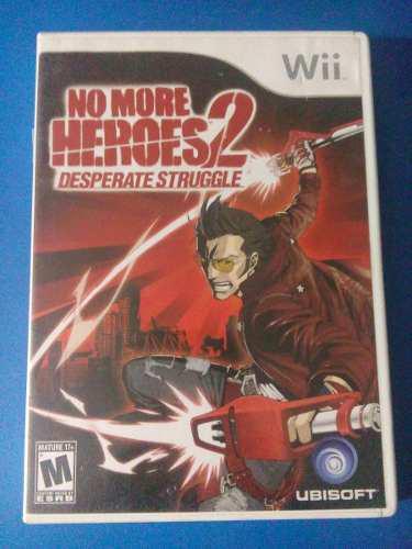 No more heroes 2 desperate struggle wii nintendo