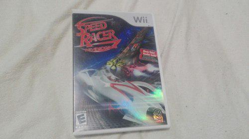 Speed racer the videogame juego nintendo wii meteoro