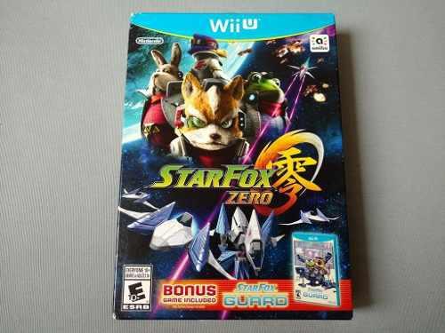 Star fox zero y star fox guard original para nintendo wii u