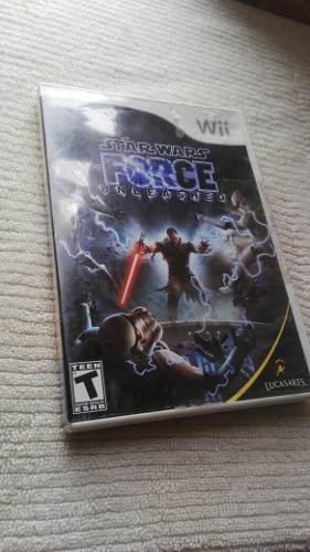 Star wars the force unleashed juego para nintendo wii