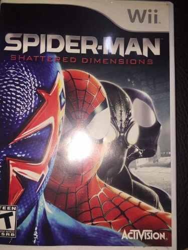 Videojuego spiderman shatte red dimensiones para nintendo w