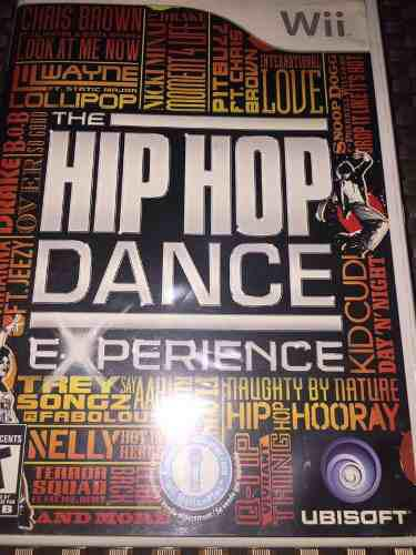 Videojuego the hip hop dance experience