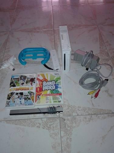 Wii nintendo wii con controles y dos juegos