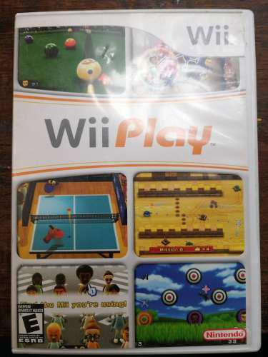 Wii play - nintendo wii juego