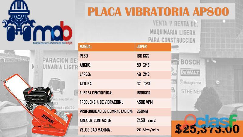 Placa vibratoria joper en venta