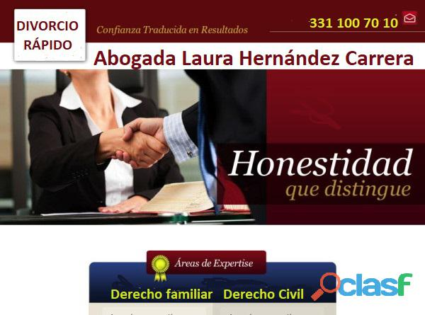 Divorcios necesarios o incausados en guadalajara|abogada de rápida solución