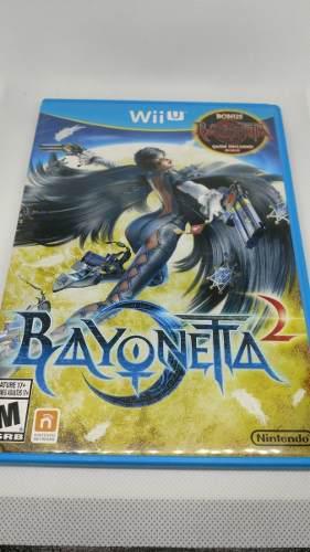 Bayonetta 2 y 1 para wii u (excelente estado 100%)