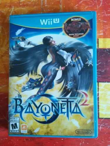 Beyonetta 2 para wiiu 2 discos bayonetta 1