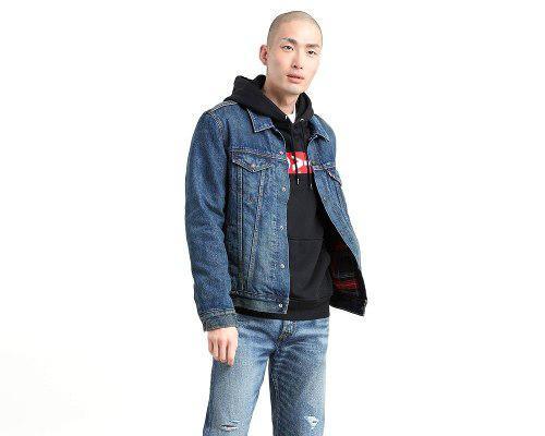 Chamarra levi's® hombre lined trucker jacket chewy trucker