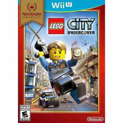 Lego city undercover nintendo wii u nuevo sellado original
