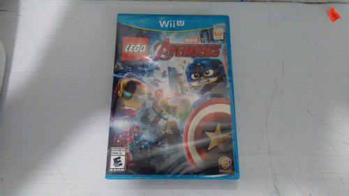 Lego marvel avengers completo para nintendo wii u,excelente