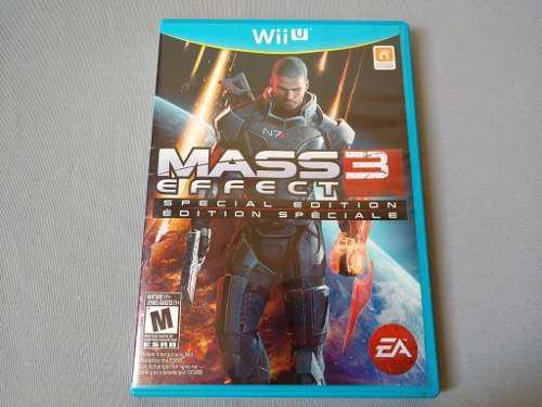 Mass effect 3 special edition original para nintendo wii u