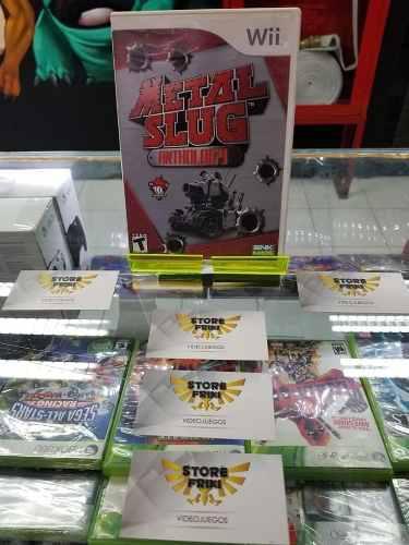 Metal slug anthology **para wii & wii u** envió gratis +