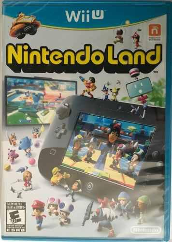 Nintendo land para wii u nuevo