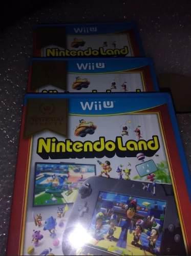 Nintendo land para wii u nuevo y sellado