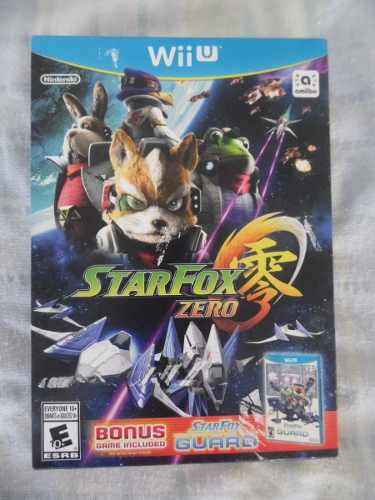 Star fox zero+star fox guard nuevo, sellado de wii u