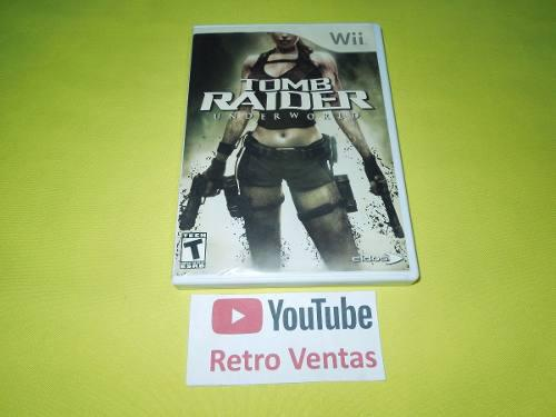 Tomb raider underworld nintendo wii *compatible con wii u*