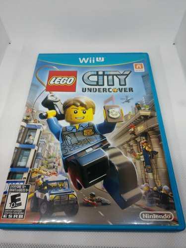 Wii u lego city undercover (perfecto estado)
