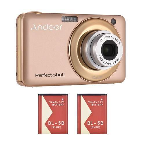 Andoer 20mp 720p hd digital cámara vídeo con la