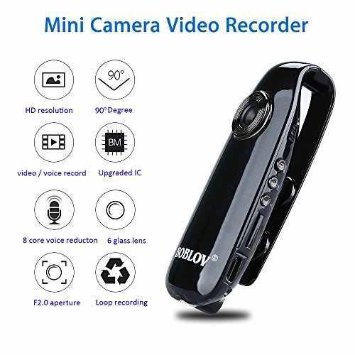 Boblov mini cámara full hd 1080p videocámara cámara