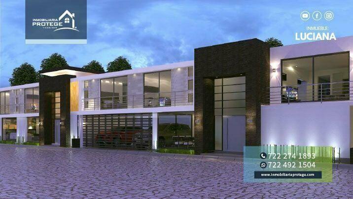 Casas nuevas en venta con sistema inteligente y jardín en