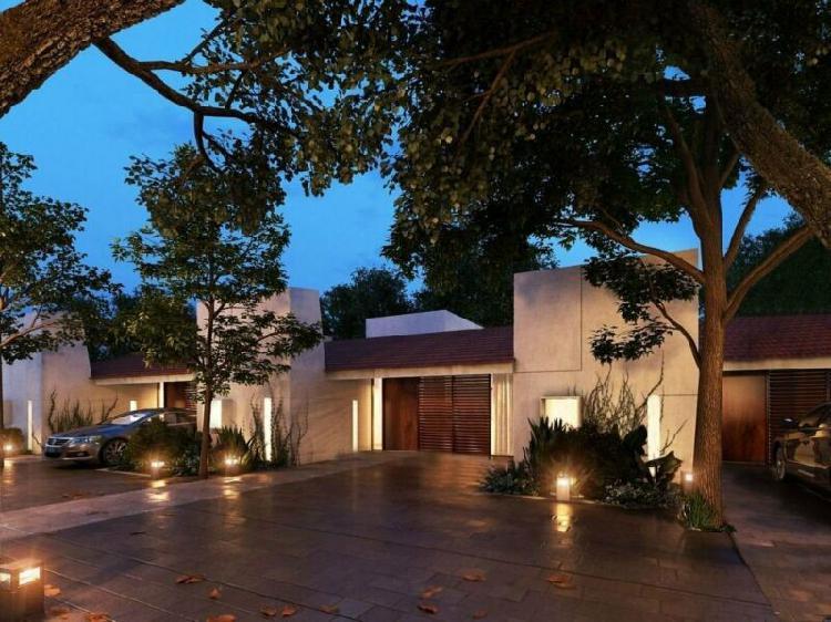Casas de 1 planta tipo villa en privada rue villas, santa