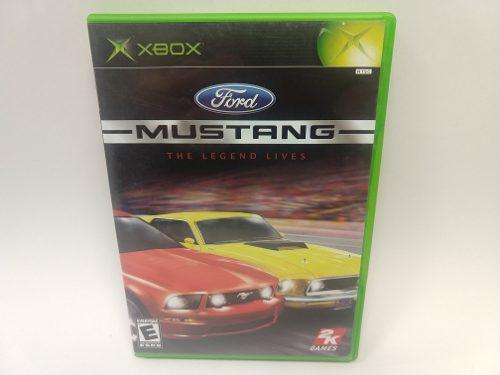 Ford mustang xbox clasico juegazo de coleccion completo!!!